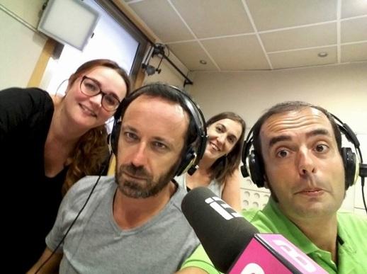 Todos los miércoles (12.30h) estamos en IB3 Ràdio.