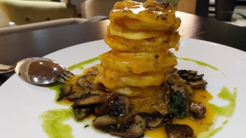 Patatas de pobre del Restaurant Cuit, Palma.