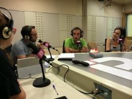 En plena acción en #TrescantAlDia de IB3 Ràdio.