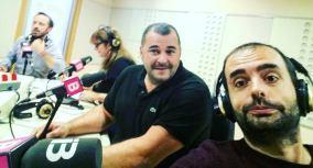 Con Miquel Calent en #TrescantAlDia