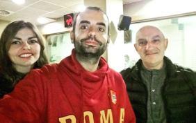 Con Tomeu Arbona y Victòria Mayans en #TrescantAlDia