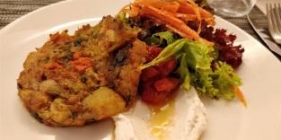 Hamburguesa vegetal del Bri (Palma).