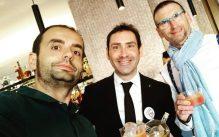 Con Andreu Genestar, en Gremium Liquid Perfection (Palma)